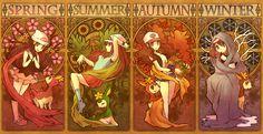 pokemon four seasons