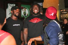 Dont'a Hightower hosted his second annual Monday Night Football Watch Party to benefit the American Diabetes Association on Oct. 17.