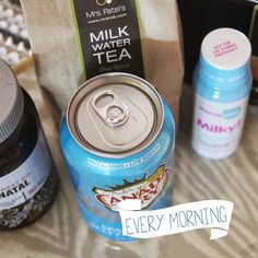 Natural products to help increase milk production while breastfeeding // via Fairytales are True