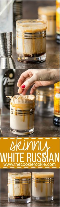 This SKINNY WHITE RUSSIAN has it all! Super creamy, flavorful, and just a…@lovemysilk