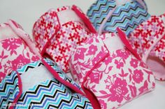 Cloth diaper pattern for dolls and stuffed animals. These would be a great gift.