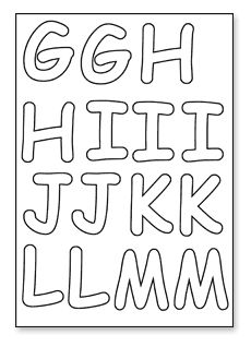 click to download g to m cut out letters alphabet fonts dandy free