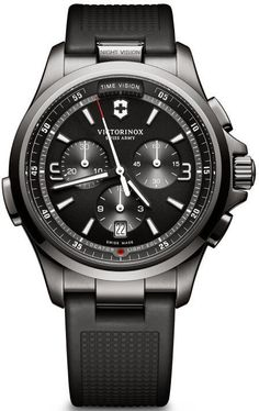 @vxswissarmy Watch Night Vision #add-content #bezel-fixed #bracelet-strap-rubber #brand-victorinox-swiss-army #case-material-black-pvd #case-width-42mm #chronograph-yes #classic #date-yes #delivery-timescale-1-2-weeks #dial-colour-black #gender-mens #movement-quartz-battery #new-product-yes #official-stockist-for-victorinox-swiss-army-watches #packaging-victorinox-swiss-army-watch-packaging #style-dress #subcat-night-vision #supplier-model-no-241731 #warranty-victorinox-swiss-army-o...