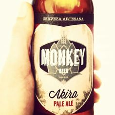 Cerveza Artesana Monkey. Akira Pale Ale.