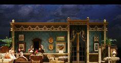Don Pasquale. Scenic - Don Pasquale. Scenic design by Tony Fanning. --- #Theaterkompass #Theater #Theatre #Schauspiel #Tanztheater #Ballett #Oper #Musiktheater #Bühnenbau #Bühnenbild #Scénographie #Bühne #Stage #Set