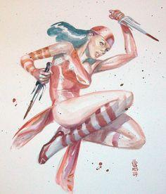 Elektra by J.G. Jones