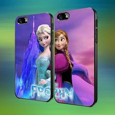 Disney Frozen Anna And Elsa Couple Mountain by laskarspelangi, $31.89