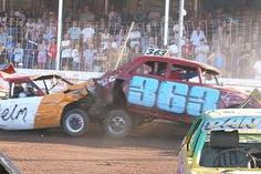 Another of my motorsport loves! Demolition Derby, Tractor Pulling, Derby Cars, John Martin, Destruction, Fun Things, Race Cars, Madness, Monster Trucks