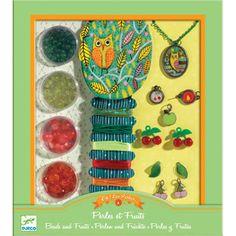 Djeco Beads - Pearls & Fruits