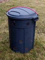 Trash can composter. - Anthony, The Compost Bin http://www.thecompostbin.com