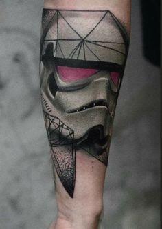 Star Wars Storm Trooper tattoo