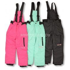 Dětské zateplené kalhoty s kšandami. #děti #zimní #oblečení #kalhoty #dětskámóda Parachute Pants, Fashion, Moda, Fashion Styles, Fashion Illustrations