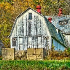 Old Barn In The Water Gap by Nick Zelinsky