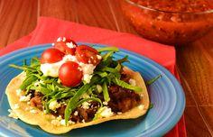 Vegetarian Tostadas ( gluten free) recipe - Foodista.com
