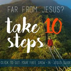 Step by Step Faith--FREE GUIDE