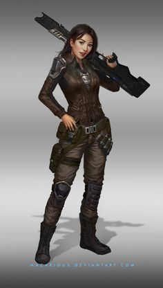 Image result for sci fi female character portrait