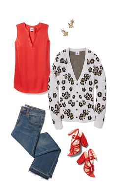 Check out five unique ways to mix and match the Rose Top with other cabi items!
