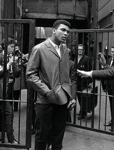 The great Muhammad Ali.