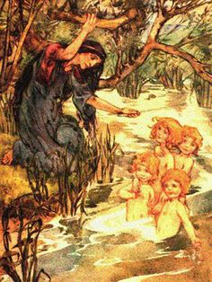 More Celtic Mischief: Meet the Korrigan Irish Mythical Creatures, Celtic, Types Of Fairies, Norse Mythology, Faeries, Folklore, Cute Drawings, Fairy Tales, Illustration Art