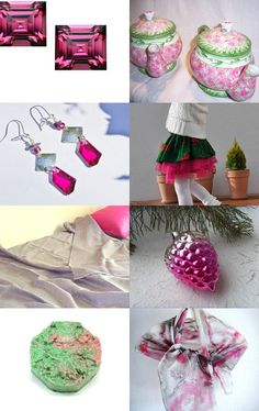 Dreaming of a Pink Christmas by Dawn on Etsy--Pinned with TreasuryPin.com