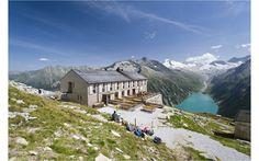 Österreichs Almhütten für Wanderfreunde: Olperer Hütte, Zillertaler Alpen Bild: Norbert Freudenthaler