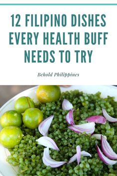 Whether you are watching weight or just want to eat healthily, here are some of the most gut-friendly yet delicious Filipino dishes you can surely enjoy. Healthy Dishes, Healthy Soup, Healthy Salads, Grilled Squid, Grilled Pork, Pinakbet, Water Spinach, Soup Dish, Food Trip