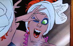 Madame Medusa in The Rescuers Disney animator Milt Kahl's finest work? Some consider this scene to be the best work in animation ever. Disney Pixar, The Rescuers Disney, New Disney Movies, Disney Animated Movies, Disney Villains, Disneyland Paris, Bernard Und Bianca, Walt Disney Animation Studios, Disney Pictures