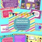 Everything you need to introduce and teach about characters, characterization, and character traits!