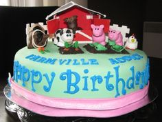 FARMVILLE CAKE By joiecreations on CakeCentral.com