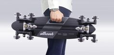 A longboard that can go offroad  and over stairs.