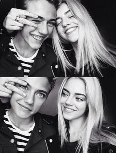 luckybsmith:  Lucky Blue Smith & Pyper America