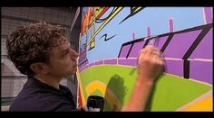 BURTON MORRIS : Power of POP! Great biographical video for the class.