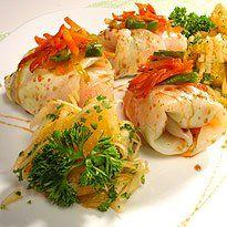 Resepti: Kasvis-kaalikääryleet ja appelsiini-lantturaaste