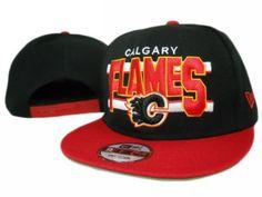 Calgary Flames Snapback Hat