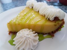 Saying goodbye to the Florida Keys with a key lime pie at the 7 Mile Grill. Great place to stop on a road trip. Key Lime Pie, Florida Keys, Grilling, Road Trip, Travel, Food, The Florida Keys, Voyage, Trips