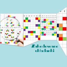 Baw się kolorowym kodem to propozycja aktywności łączącej rozwijanie logicznego myślenia, spostrzegawczości i umiejętności tworzenia kodu,...