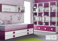 pintar paredes colores - mueble juvenil - muebles ros - allehup - creyesnavarro - 2