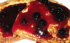 Debbi Does Dinner... Healthy  Low Calorie: Blueberry Syrup Topping for Pancakes or French Toast