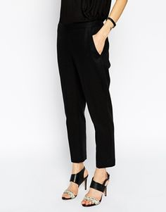 <3 Bought: ASOS Cropped Linen Pants in Black