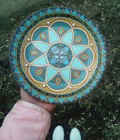Тарелка декоративная  Яна Малафеева