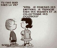 """"""" Les histoires d'A, les histoires d'Amour finissent mal en général... """" ( Les Rita Mitsuko ) / By Snoopy."""