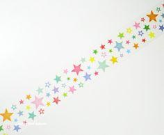 七夕 笹飾り 画像