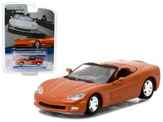 2012 Chevrolet Corvette Convertible Inferno Orange General Motors Collection Series 1 1/64 Diecast Model Car by Greenlight - Brand new 1:64 scale car model of 2012 Chevrolet Corvette Convertible Inferno Orange General Motors Collection Series 1 die cast model car by Greenlight. Limited Edition. Has Rubber Tires. Comes in a blister pack. Detailed Interior, Exterior. Metal Body and Chassis. Officially Licensed Product. Dimensions Approximately L-2.5 Inches Long.-Weight: 1. Height: 5. Width: 9…