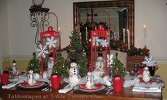 Christmas tablescape ~