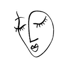 Abstract continuous one line drawing, woman face. - Buy this stock vector and explore similar vectors at Adobe Stock Female Face Drawing, Woman Drawing, Face Line Drawing, Abstract Face Art, Graphisches Design, Outline Art, Continuous Line Drawing, Illustration, Minimalist Art