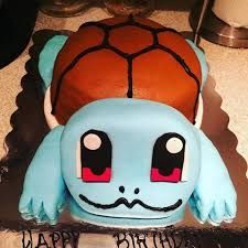 Image result for squirtle cakes