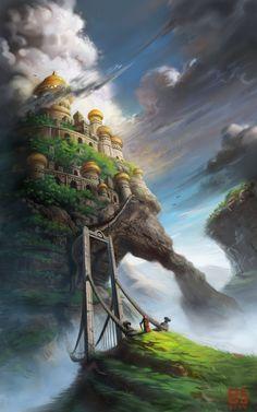 Conceptual Render of a Castle