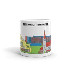Tampere Finland Coffee Mug Tea Cup