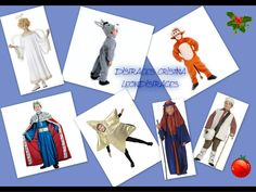 #Christmas costumes. #disfraces de #navidad. www.leondisfraces.es
