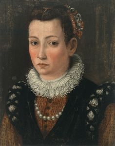 Portrait of a Woman, c.1550 (tempera on panel)